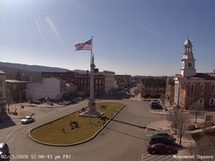 view from 13 East Market Street - Lewistown PA (west) on 2020-02-21