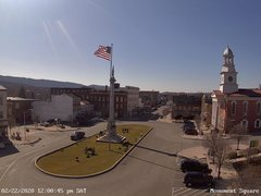 view from 13 East Market Street - Lewistown PA (west) on 2020-02-22
