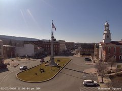 view from 13 East Market Street - Lewistown PA (west) on 2020-02-23
