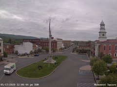 view from 13 East Market Street - Lewistown PA (west) on 2020-05-17