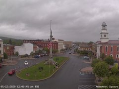 view from 13 East Market Street - Lewistown PA (west) on 2020-05-22