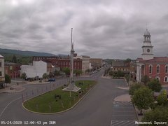 view from 13 East Market Street - Lewistown PA (west) on 2020-05-24