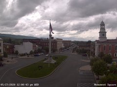 view from 13 East Market Street - Lewistown PA (west) on 2020-05-27