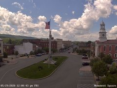 view from 13 East Market Street - Lewistown PA (west) on 2020-05-29