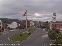 view from 13 East Market Street - Lewistown PA (west) on 2020-06-02