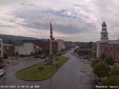 view from 13 East Market Street - Lewistown PA (west) on 2020-06-03