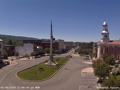 view from 13 East Market Street - Lewistown PA (west) on 2020-06-08