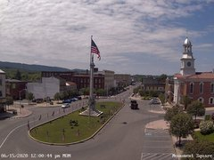 view from 13 East Market Street - Lewistown PA (west) on 2020-06-15
