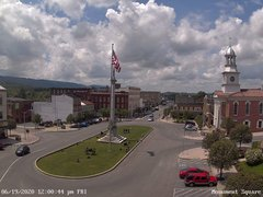 view from 13 East Market Street - Lewistown PA (west) on 2020-06-19