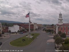 view from 13 East Market Street - Lewistown PA (west) on 2020-06-27