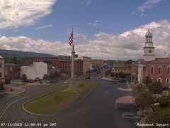 view from 13 East Market Street - Lewistown PA (west) on 2020-07-11
