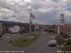 view from 13 East Market Street - Lewistown PA (west) on 2020-07-12