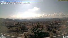 view from Escalaplano on 2019-10-28