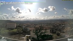 view from Escalaplano on 2019-11-17