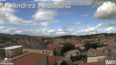 view from Sant'Andrea Frius on 2019-11-07