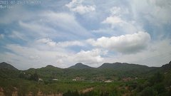 view from Borriol - la Vall del Morico (Vista Est-Desert) on 2021-07-25