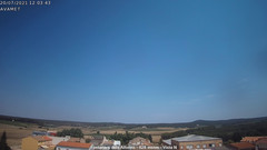 view from Fontanars2 AVAMET on 2021-07-20