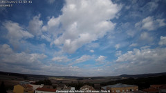 view from Fontanars2 AVAMET on 2021-10-18