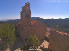 view from Xodos - Ajuntament (Plaça de l'Esglèsia)  on 2021-10-13