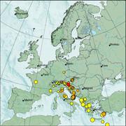 view from Erdbeben Europa on 2021-04-10