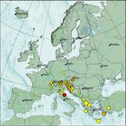 view from Erdbeben Europa on 2021-05-24