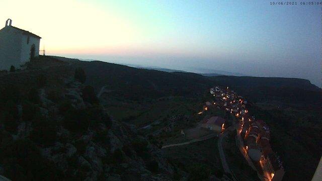 time-lapse frame, Xodos - Sant Cristòfol (Vista general) webcam
