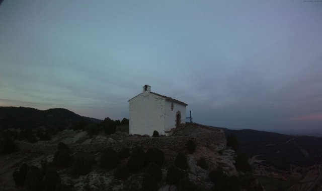 time-lapse frame, Xodos - Sant Cristòfol (Vista NE) webcam