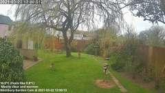 view from Wembury, Devon. Garden Cam on 2021-03-22