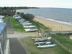 view from Cowes Yacht Club - West on 2021-09-11