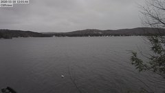 view from 4th Lake, Inlet, NY on 2020-11-18