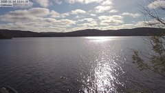 view from 4th Lake, Inlet, NY on 2020-11-24
