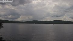view from 4th Lake, Inlet, NY on 2021-07-23