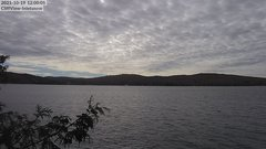 view from 4th Lake, Inlet, NY on 2021-10-19
