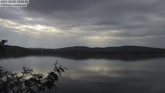 view from 4th Lake, Inlet, NY on 2021-10-21