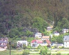 view from Webcam in Bad Schandau, Krippen & Postelwitz on 2021-06-10