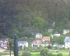 view from Webcam in Bad Schandau, Krippen & Postelwitz on 2021-09-22