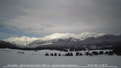 view from Pian Cansiglio - Casera Le Rotte on 2021-01-05