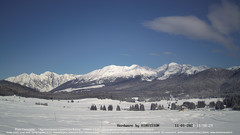 view from Pian Cansiglio - Casera Le Rotte on 2021-01-11