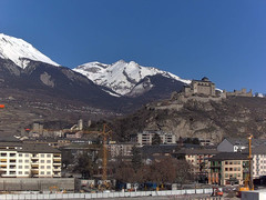 view from Sion - Industrie 17 on 2021-02-21