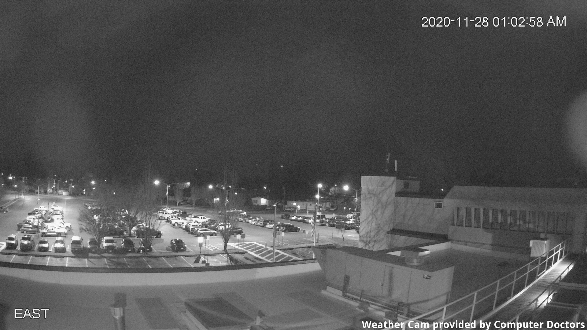 time-lapse frame, East webcam